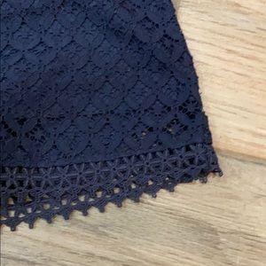 Merona Tops - Navy blue sleeveless blouse